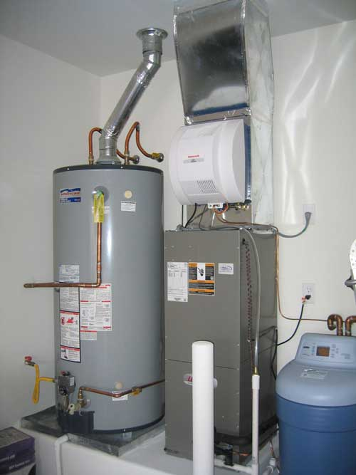 water heater installation in Katy, TX